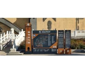 旅游景区标识导视系统设计